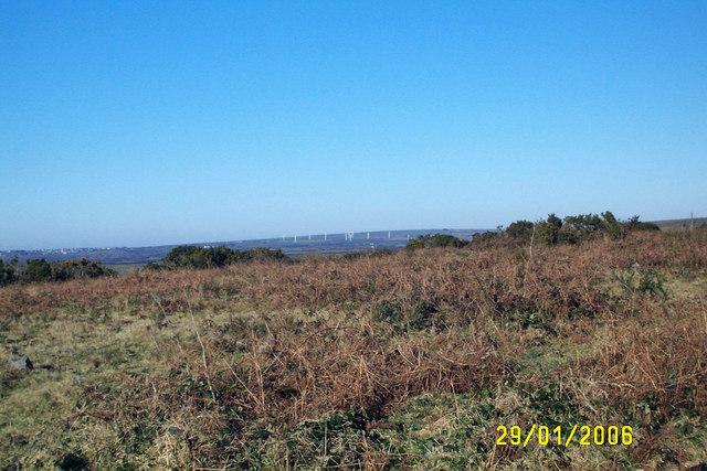 The edge of Bodmin Moor