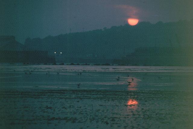 Par Beach at Sunset