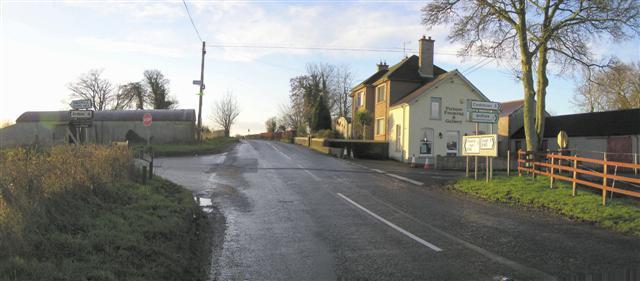 Crossroads at Tullyhurken