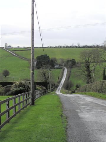 Road at Gortigal