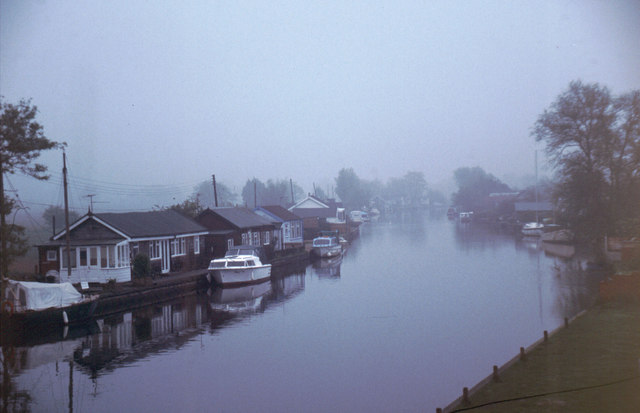 Early Morning on the River Thurne