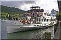 SD3787 : Teal Departs Lakeside by Alan Pennington
