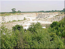 TA0238 : Queensgate chalk quarry by mike hancock