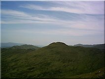 NN6854 : Geal Charn (792 metres) from the lower western slopes of Schiehallion by Mark Taylor