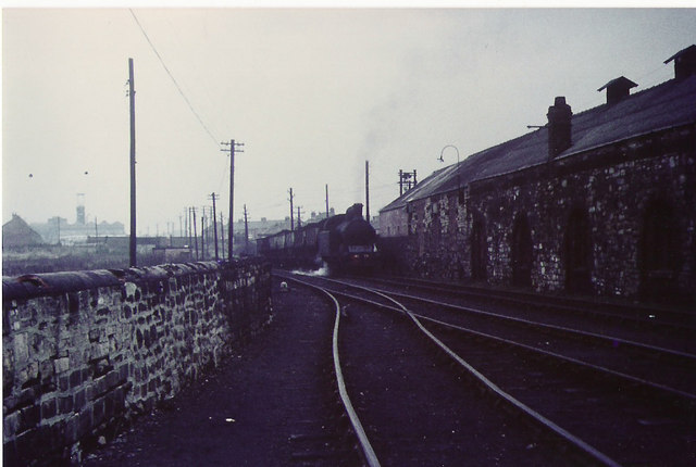 Coal train at Philadelphia.