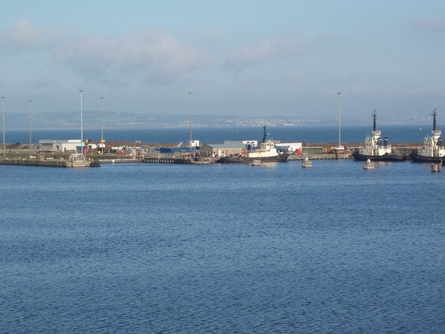Port of Leith: Tugs and Lock Gates