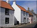 NT4899 : Earlsferry High Street - Allan Place by Sandy Gemmill
