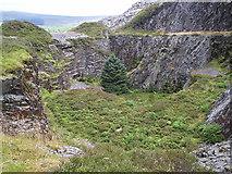 SN0729 : Pit at Rosebush slate quarry by ceridwen