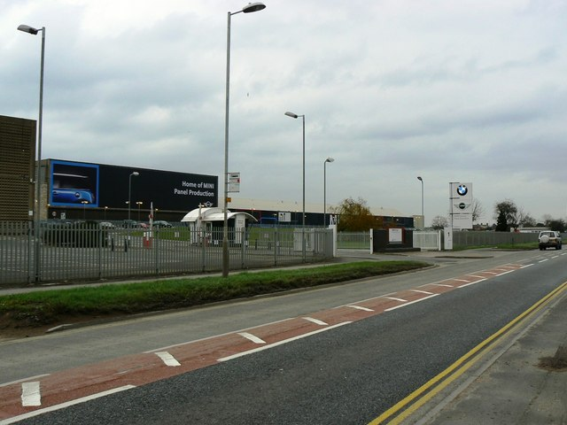 BMW Plant Swindon, Bridge End Road, Swindon