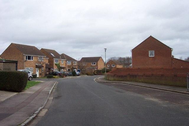 Housing estate, Carterton