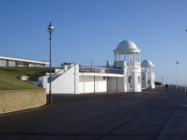 The Twin Cupolas at the Colonnade, Bexhill