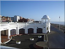 TQ7407 : The Colonnade Coffee House on Bexhill Seafront by Nigel Stickells