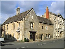 SP0202 : Monmouth House, Thomas Street, Cirencester by Tony Woodward