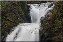 J3996 : Glenoe waterfall (5) by Albert Bridge