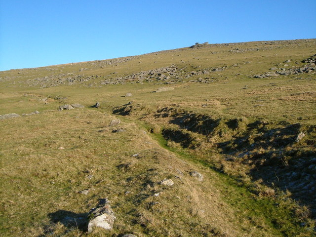 Black Lane and Lynch Tor