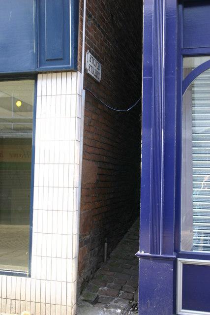 Stone Street, Prescot, Merseyside, narrowest in the world