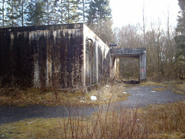 Inverkip Anti Aircraft Operations Room