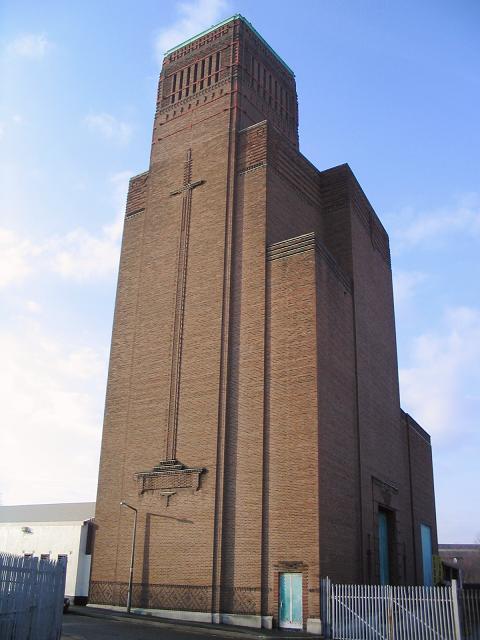 Taylor St. ventilating station, Birkenhead