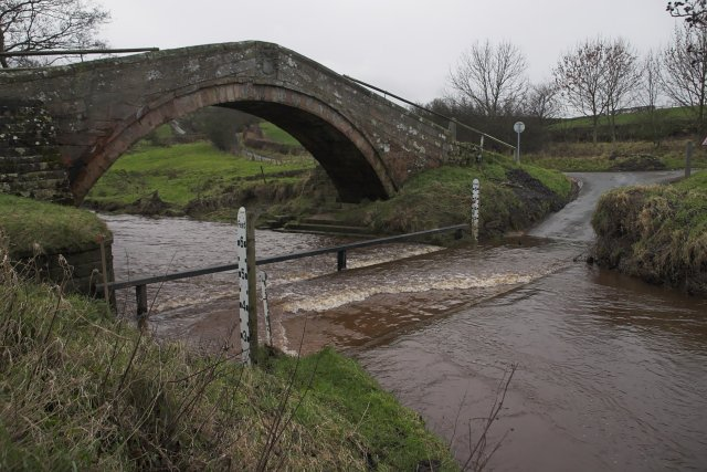 The ford by Duck Bridge