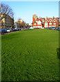 TQ2904 : Green, Grand Avenue by Simon Carey