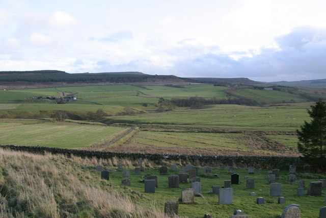 View from St Cuthbert's Churchyard, Corsenside