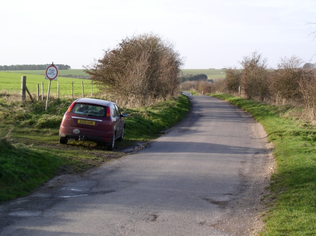 One of the few lanes across Salisbury Plain