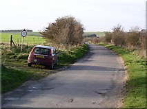 SU0746 : One of the few lanes across Salisbury Plain by Chris Henley