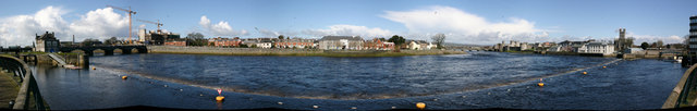 River Shannon at Limerick