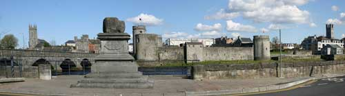 Treaty Stone and King Johns Castle, Limerick