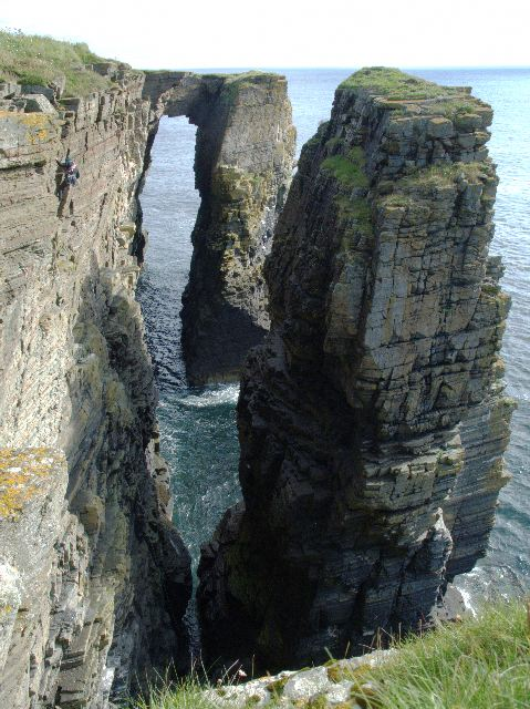 Sea Stack and Arch