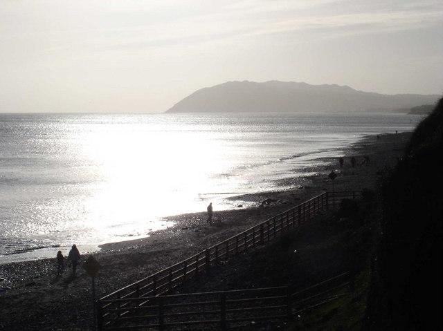 Beach at Station Road, Killiney