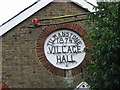 TR3051 : Detail on village hall by Nick Smith