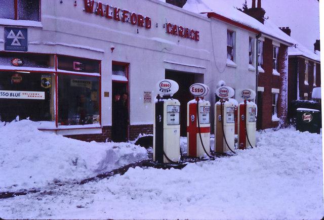 Walkford Garage Walkford Dorset 1963