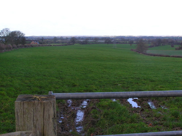 Leese Farm from Thorneyfields Lane