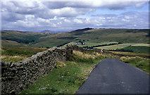 SD7056 : Lane descending to the Upper Hodder Valley by Chris Heaton