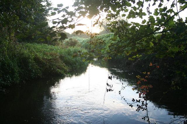 Stream from Podmore Lane, Gressenhall