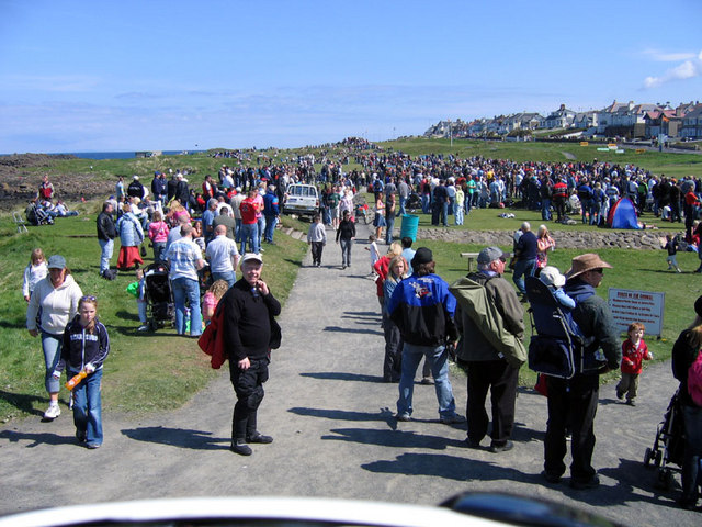 Portstewart during the 2006 NW200 Motorcycle TT