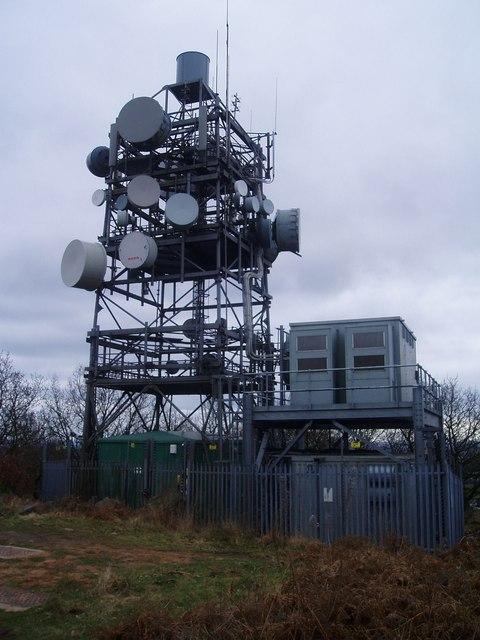 Radio Mast at Bardon Hill