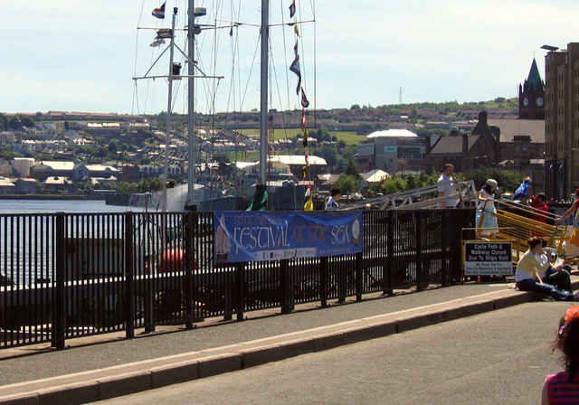 Waterside from Derry Quay