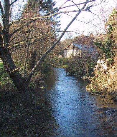 River Glyme in Wootton by Woodstock