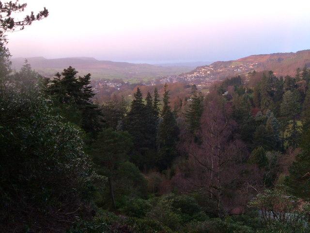 New Year over Cragside