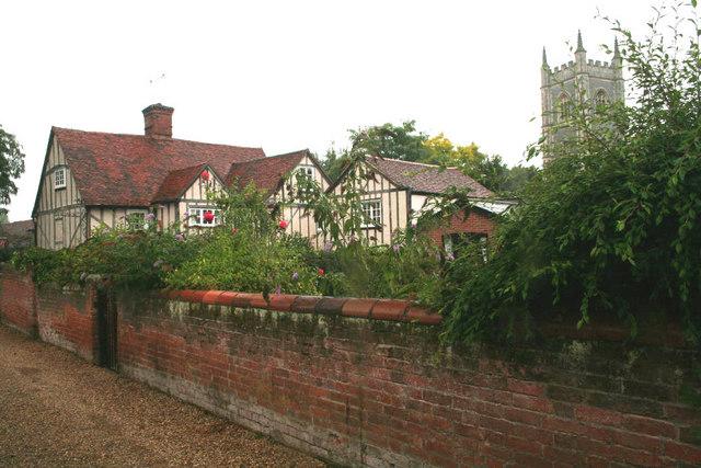 School Lane, Dedham