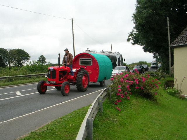 Vintage Tractor Rally....Hamiltons Corner