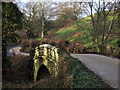 NU0900 : Bridge over the Black Burn by Derek Harper