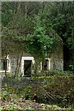 SK3155 : Derelict Junction Keepers Cottage by Rob Bradford