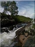NN2868 : Waterfall on Abhainn Rath by Keith Wilson