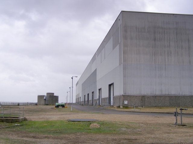 Switch house building, Fawley Power Station