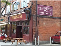 TQ1885 : Eddie's Sports Bar by Russell Trebor