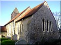 TQ8889 : Sutton in Shopland Parish Church by Julieanne Savage