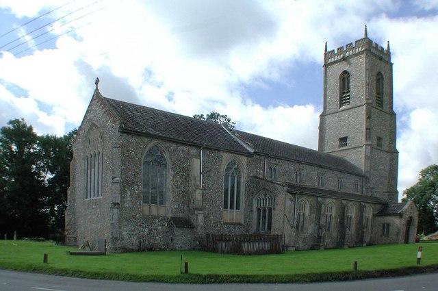 St Bartholomew, Brisley, Norfolk